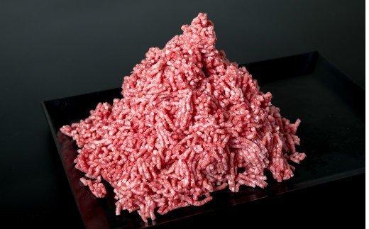 国選の牛肉と豚肉をミンチした合挽肉 500gを2パック(1KG)