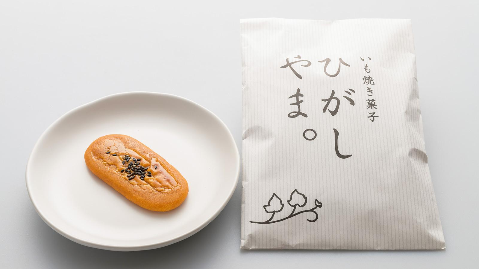 いも焼き菓子「ひがしやま。」(4枚入)